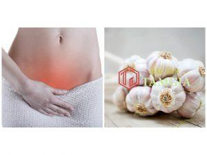Chữa viêm cổ tử cung bằng tỏi