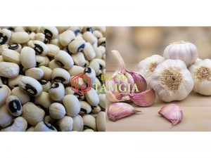 Bài thuốc chữa cao huyết áp từ tỏi và đậu trắng