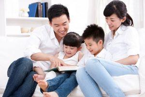 Đọc sách cùng con có thể cải thiện tình trạng chậm nói